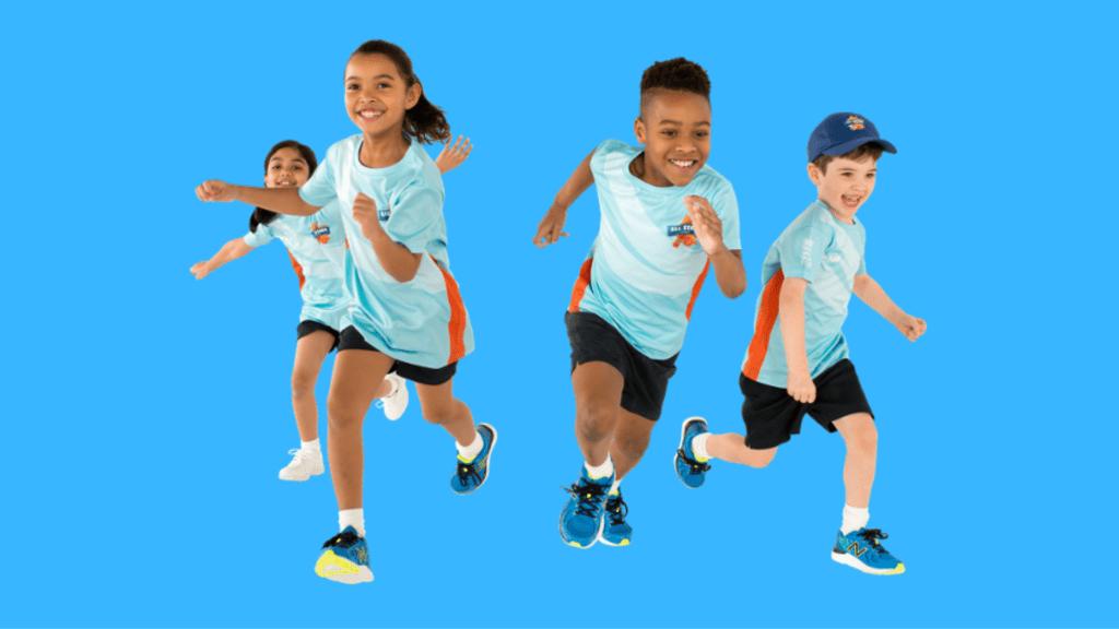 Розробка сайту Дитячої легкої атлетики