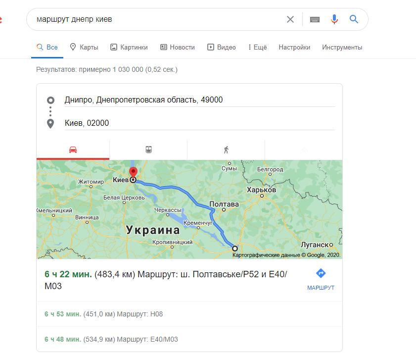 Нулевая позиция Гугл